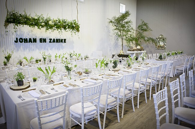 Green White Botanical Wedding Ashanti South Africa (57)
