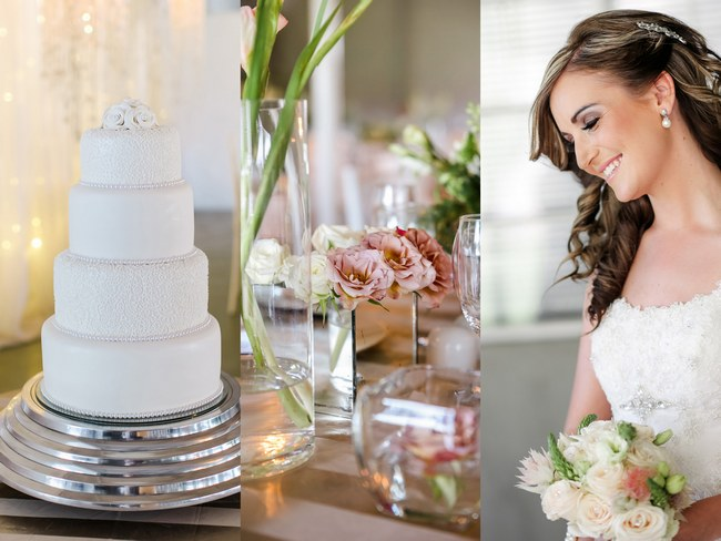 Pretty Peach and Blush Spring South African Wedding {Nikki Meyer Photography}