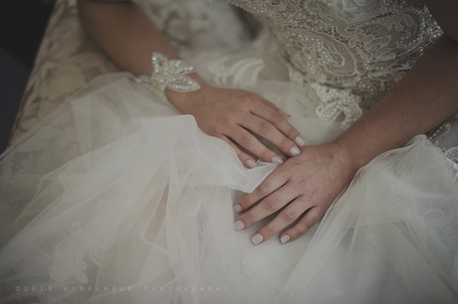 Powder Blue Lace Succulent Wedding Nutcracker Country Retreat 014
