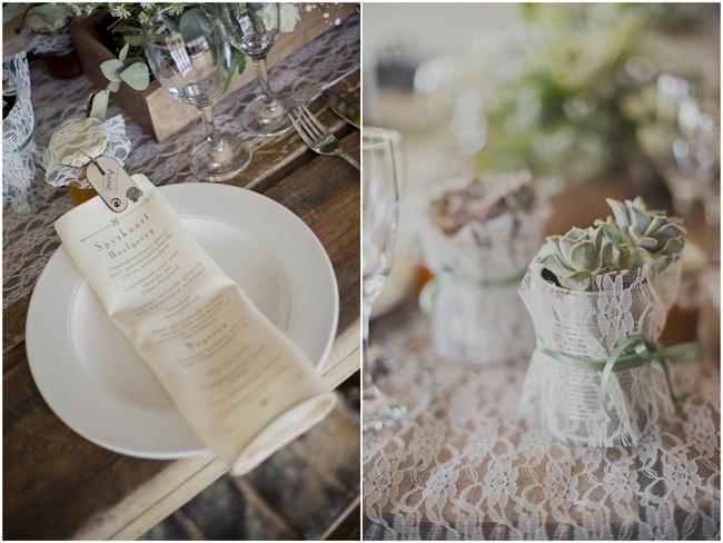 Powder Blue Lace Succulent Wedding Nutcracker Country Retreat 029