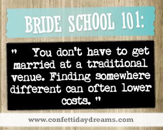 Real Bride Advice -  Venue Costs -  Natalie
