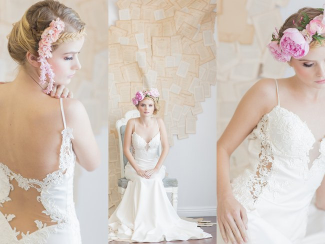 Backless Wedding Dress Spotlight: Galia Lahav's Saffron Gown {Retrospect Images}