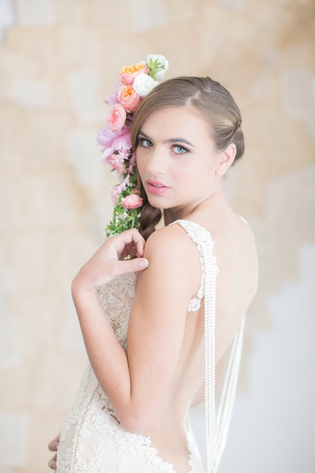 Backless Wedding Dress - Galia Lahav - Patchouli Bridal Gown (9)