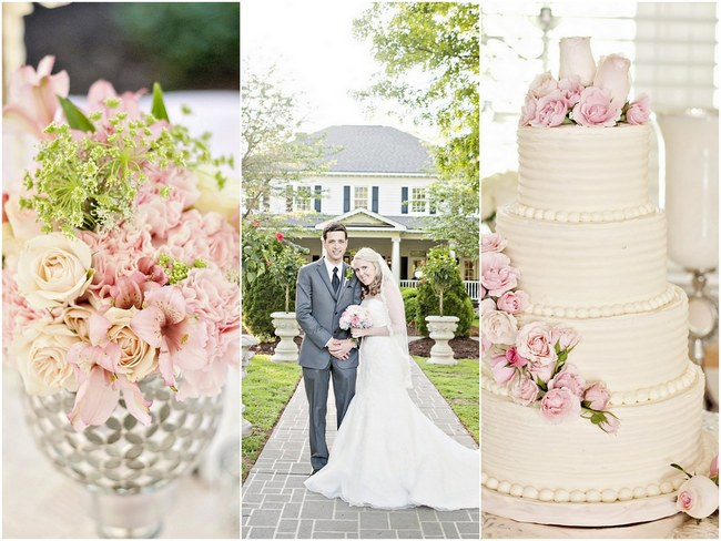 Love in bloom a perfectly pink blush soft spring wedding just blush spring wedding pretty pink flowers 2 mightylinksfo Gallery