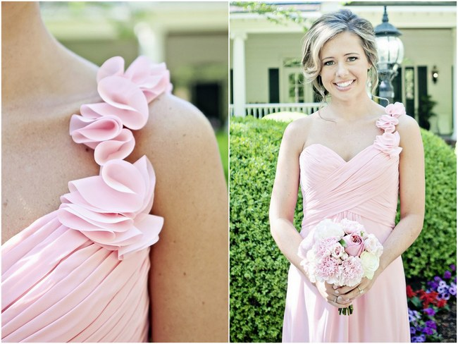 Blush Spring Wedding Pretty Pink Flowers .3
