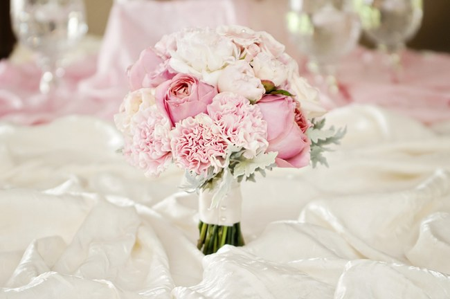 Love in bloom a perfectly pink blush soft spring wedding just mr mrs kroeger wedding day mightylinksfo