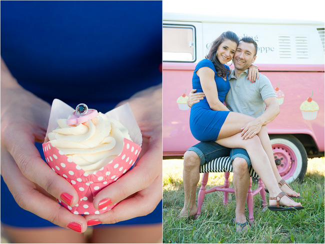 Cupcakes and Combis Pink Engagement Shoot (20)