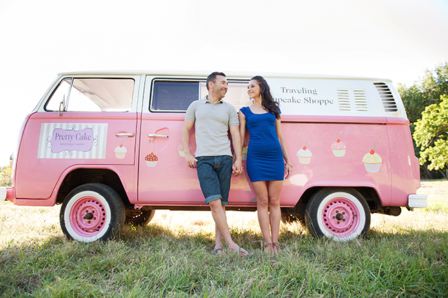 Cupcakes and Combis Pink Engagement Shoot (4)