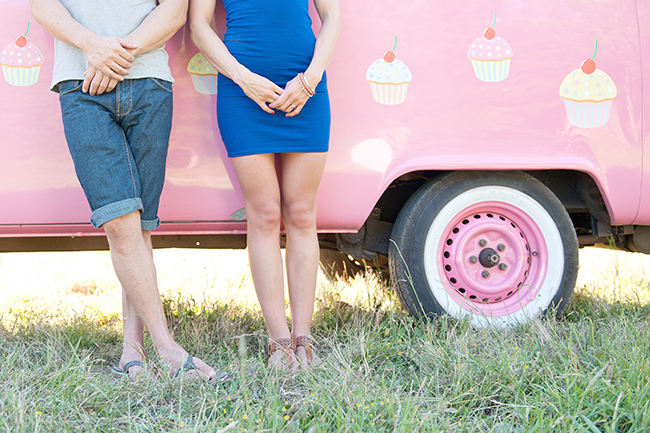 Cupcakes and Combis Pink Engagement Shoot (5)