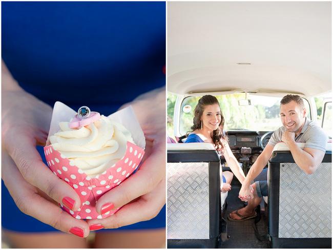 Cupcakes and Kombis: Sweet as Sugar Engagement Shoot (Samantha Du Toit Photography)