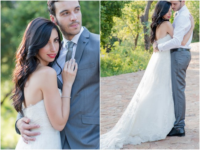 Dreamy Couple Portraits  | Dusty Pink & Violet Wedding at the Red Ivory Lodge by Lightburst Photography - As seen on ConfettiDaydreams.com