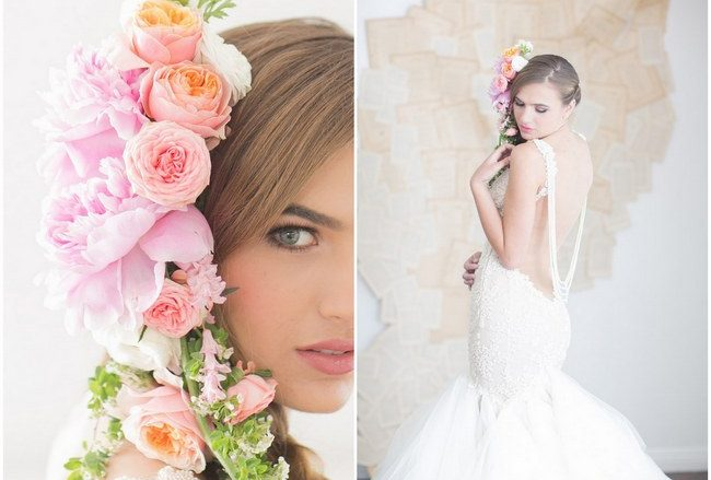 Wedding Gown Spotlight: Patchouli Perfection in French Lace & Tulle {Retrospect Images}