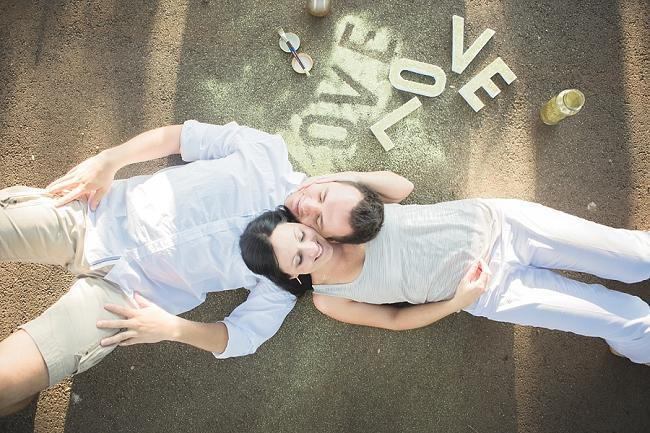 Glitter Engagement Shoot E Session 14
