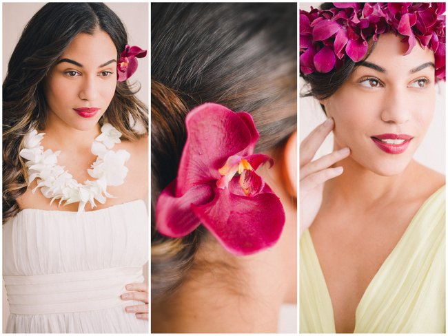 Beach Wedding Hairstyles & Top Tips for Beautiful Tropical Tresses {Julie Saad Photography}