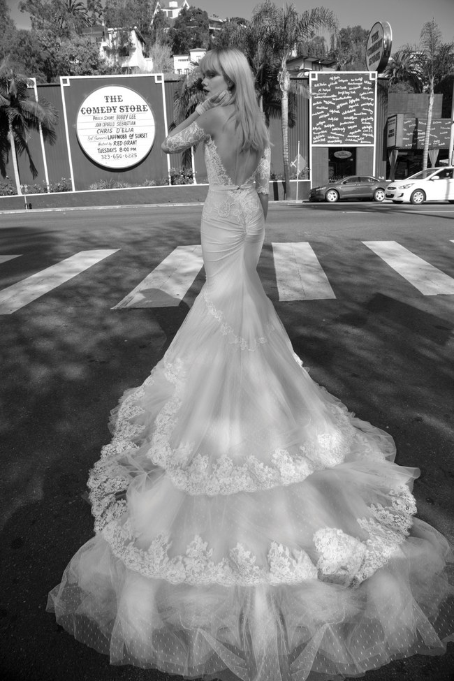 Inbal dror 2014 wedding dresses the los angeles collection for Wedding dress boutiques los angeles