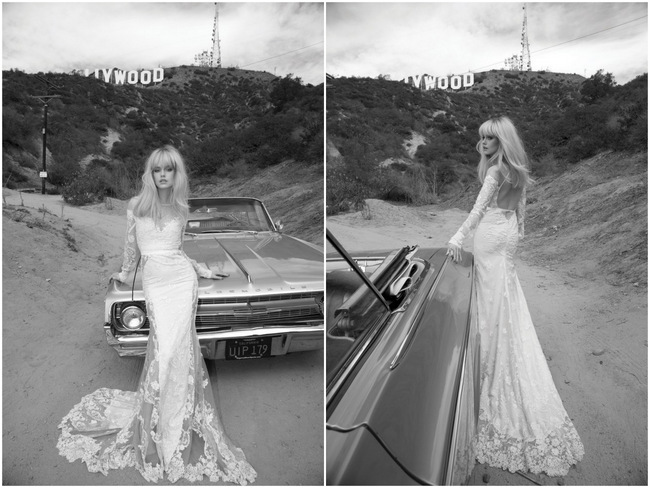 Inbal Dror Wedding Dress 2014 Los Angeles Collection
