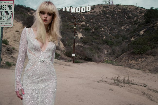 Inbal Dror Wedding Dress Collection 2014 Gown 7 (2)