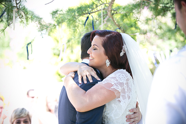 Intimate, Summer Picnic-Style Wedding in Navy & White (49)