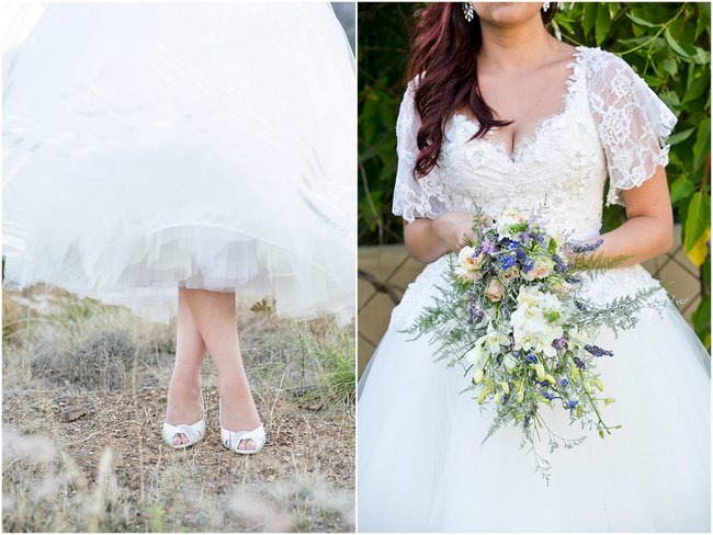 Intimate, Summer Picnic-Style Wedding in Navy & White (78)