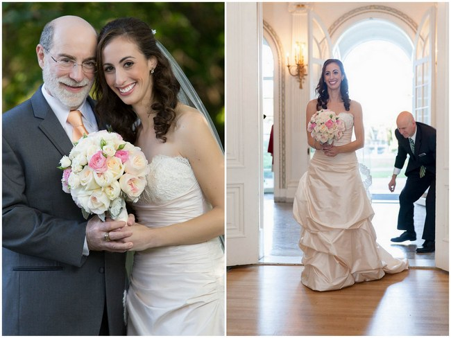 Pretty Peach and Blush Autum Wedding at the Tupper Manor by Kristen Jane Photography 21