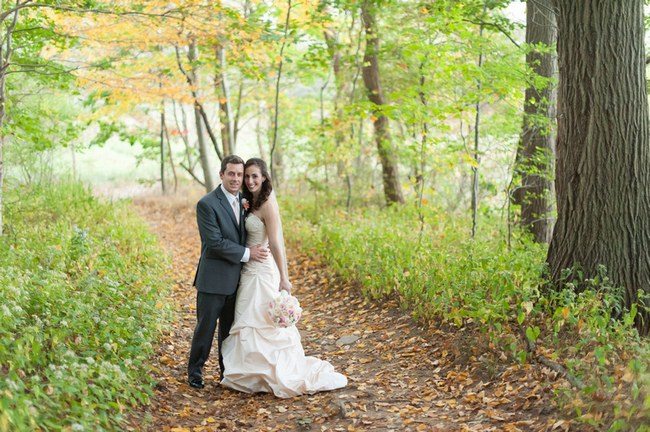 Pretty Peach and Blush Autum Wedding at the Tupper Manor by Kristen Jane Photography 25