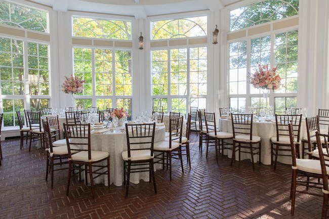 Peach and Blush Autumn Wedding at the Tupper Manor by Kristen Jane Photography | Seen first on ConfettiDaydreams.com