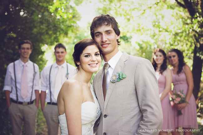 Rustic Blush South African Wedding The Plantation (21)