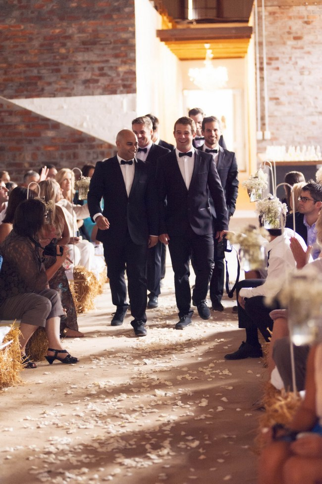 Gorgeous Rustic Cream and Gold Carnival Wedding