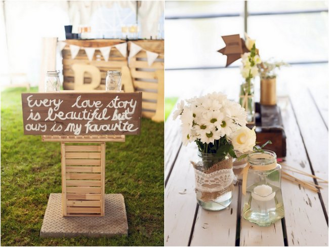 Rustic Cream and Gold Carnival Wedding (76)