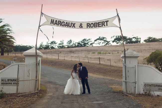 Rustic Cream and Gold Carnival Wedding