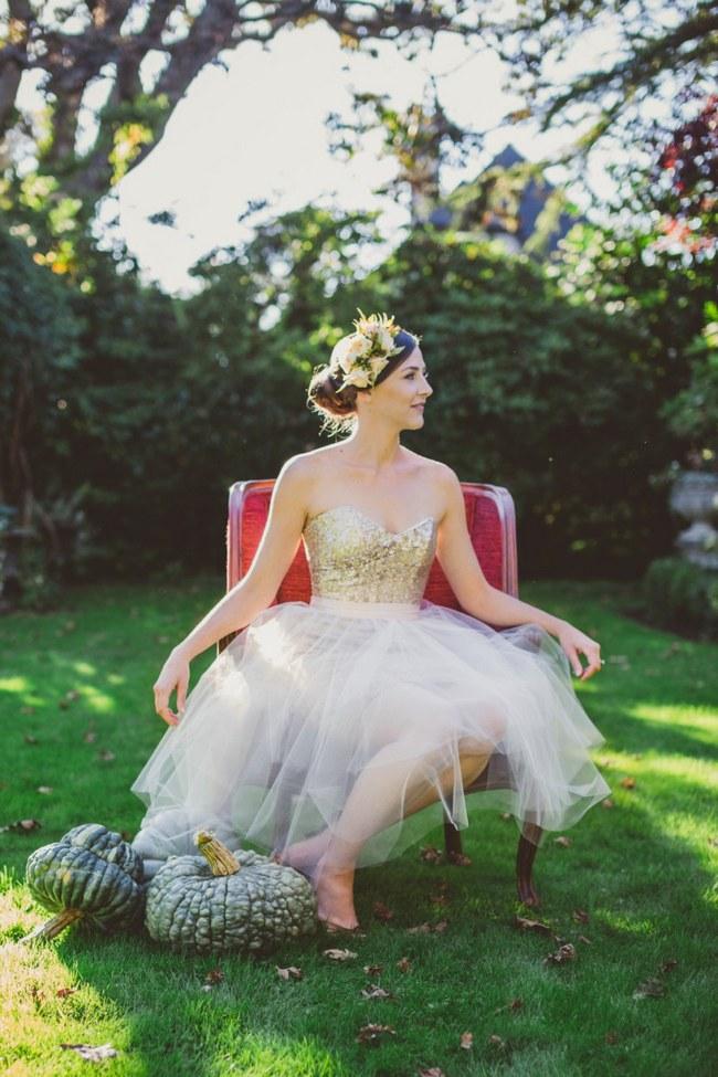 Sequin Glitter Wedding Dresses 13