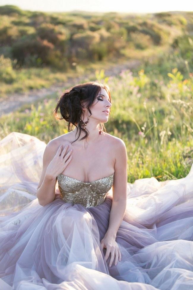Sequin Glitter Wedding Dresses 6
