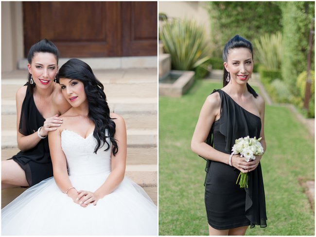 Sophisticated Black and White Cocktail Style Wedding at Moon and Sixpence (2)