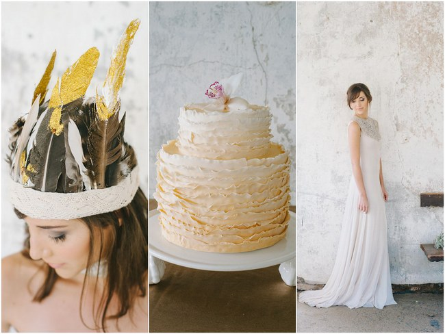 Organic & Earthy Wedding Ideas With A Touch of Gold {Natural Light Photography}