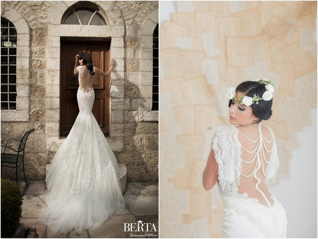 The 13 Steamiest Backless Wedding Dresses and Gowns!