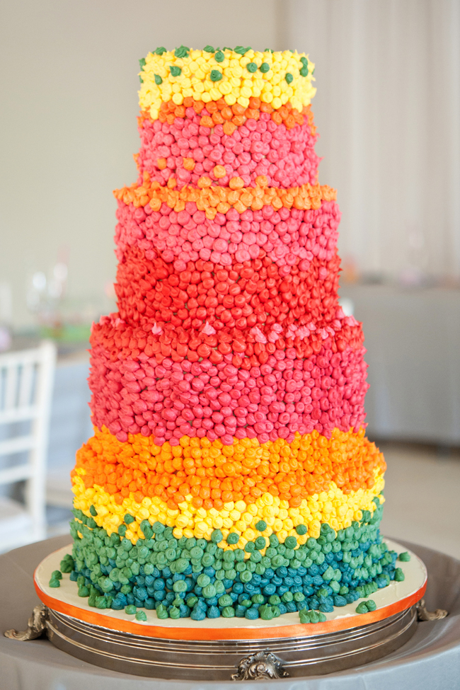 Candy Themed Rainbow Coloured Wedding 27