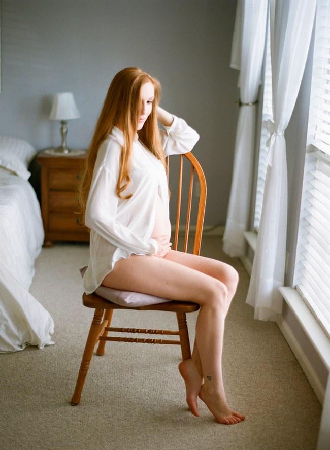 The Most Romantic Boudoir Shoot At 6 Months Pregnant