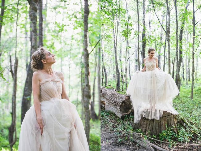 Eco-Friendly, Totally Magical Forest Wedding in Grabouw {Ruby Jean Photography}