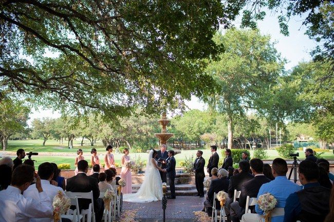 Elegant Blush and Gold San Antonio Summer Wedding (28)