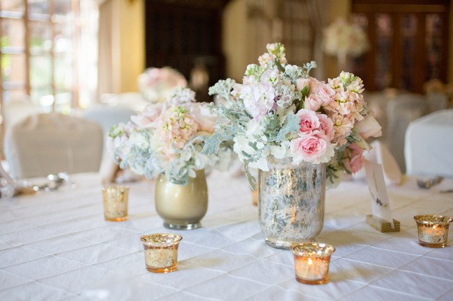 Reception And Table Decor Elegant Blush Gold Summer Wedding Miranda Laine