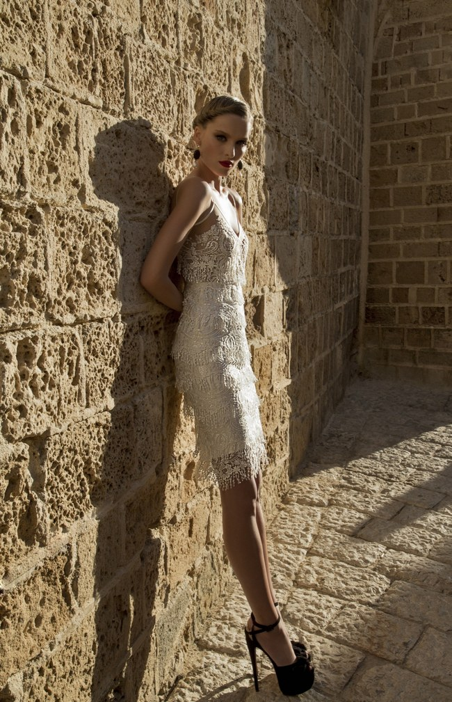 Galia Lahav Short Wedding Dress -  Naama (1)