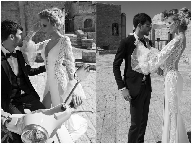 Galia Lahav Wedding Dress -  Long Sleeved Dramatic Paradicio Gown (1)