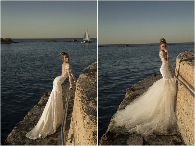 Galia Lahav Wedding Dress - Tullia Gown with Detachable Tulle Skirt