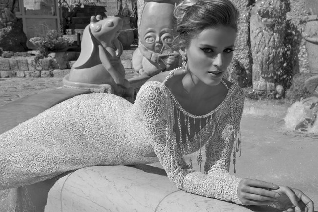 Galia Lahav Wedding Dress - Veneto Gown   -Backless, Long Sleeved Gown  (3)