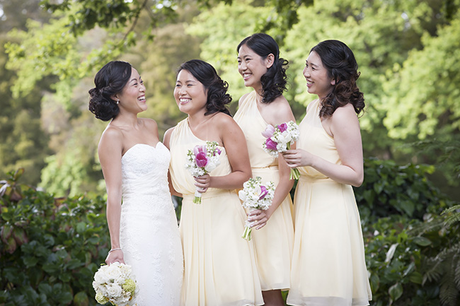 Bridesmaids Pale Yellow, White & Coral Winelands Destination Wedding (South Africa) :: Joanne Markland Photography :: ConfettiDaydreams.com Wedding Blog