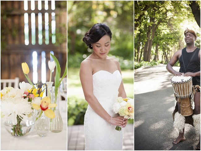 Pale Yellow White C Winelands Destination Wedding South Africa