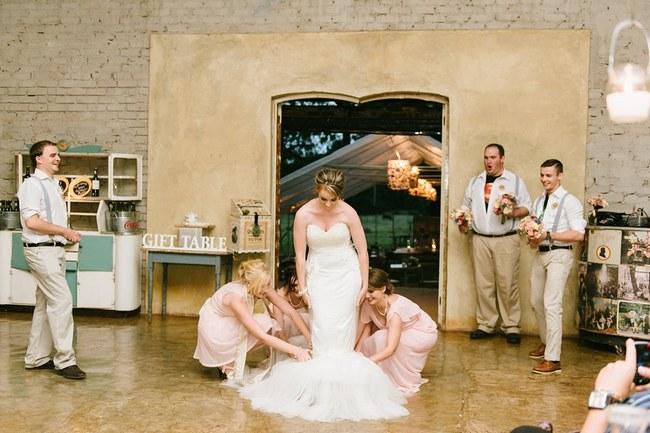Paper Flower Rustic Blush Farm Wedding South Africa (6)