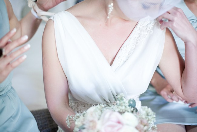 :: Pretty Pastel and Powder Blue DIY South African Wedding captured by Nadine Aucamp Photography :: Published on Confetti Daydreams Wedding Blog