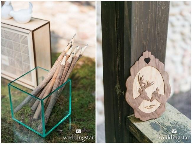 Rustic-Chic Woodlands Wedding Ideas forecasting