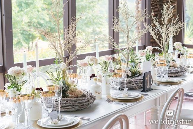 Rustic Woodland Wedding Decor  36